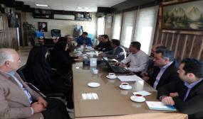 جلسه کمیته فنی کمیسیون ماده 5 در شهرداری دابودشت