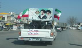 مراسم یوم الله 22 بهمن به صورت رژه خودرویی در شهر و بخش دابودشت