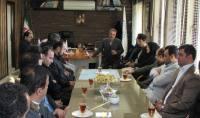 خداحافظی آقای مهنس یحیی پور از اعضا محترم شورای اسلامی شهر و پرسنل شهرداری دابودشت و تعیین سرپرست