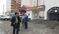 بازدید قاسمی شهرداراز مسکن مهر 180 واحدی دابودشت به روایت تصویر
