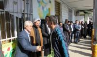 مراسم گرامیداشت هفته معلم در مدرسه شهید فاضلی شهردابودشت