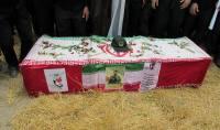 مراسم تشییع شهید پاسدار حاج روح الله سلطانی در شهرستان آمل به روایت تصویر