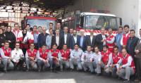 تقدیر شهردار دابودشت از آتش نشانان شهرداری آمل