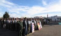گردهمایی بزرگ بسیجیان بمناسبت هفته بسیج در سپاه ناحیه آمل به روایت تصویر