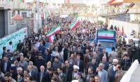 حماسه حضور در راهپیمایی 22 بهمن شهر دابودشت به روایت تصویر (1)
