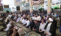 برپایی نمایشگاه عکس و ایستگاه صلواتی به مناسبت هفته دفاع مقدس در مصلی دابودشت