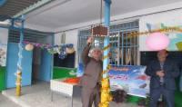 حضور قاسمی شهردار دابودشت و شورای اسلامی در مراسم آغاز سال تحصیلی در مدرسه شهید فاضلی به روایت تصویر