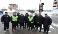 یک روز کاری قاسمی شهردار دابودشت با نیروهای خدمات شهری