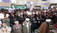 حضور قاسمی شهردار دابودشت در اجتماع بزرگ بسیجیان در مصلی دابودشت