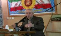 سخنرانی قاسمی شهردار دابودشت به مناسبت ایام الله دهه فجر در مسجد حضرت ابوالفضل (ع)