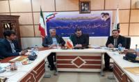 جلسه مهدوی شهردار دابودشت با محمد زاده مدیرکل راهداری و حمل و نقل جادهای استان مازندران