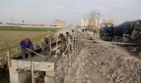 احداث پل خیابان ولیعصر (عج) شهر دابودشت