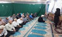 آموزش تفکیک زباله از مبدا به نمازگران شهر دابودشت در ایام ماه مبارک رمضان