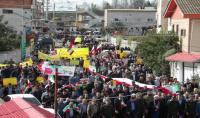 راهپیمایی باشکوه 13 آبان در شهر دابودشت